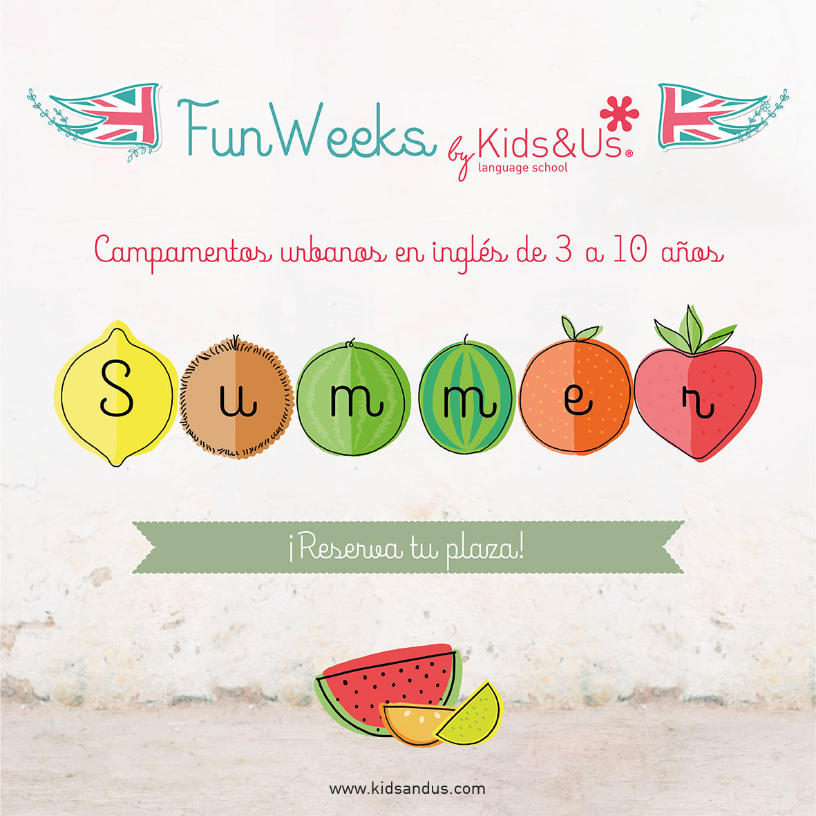 ¡Vuelven las Summer Fun Weeks de Kids&Us!